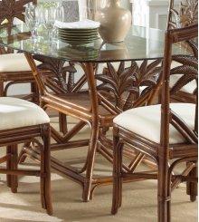 Havana Palm Indoor Rattan & Wicker Rectangular Dining Table