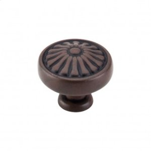 Flower Knob 1 1/4 Inch - Patina Rouge