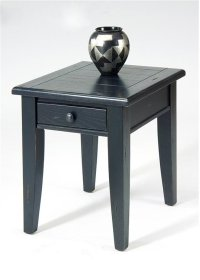 End Table - Black Product Image