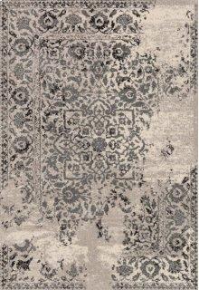 Ivory / Charcoal Rug