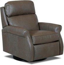 Comfort Design Living Room Leslie II Swivel High Leg Reclining Chair CL727 SHLRC