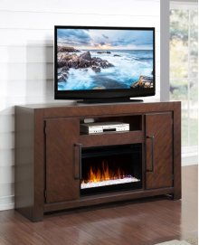 City Lights Fireplace Console