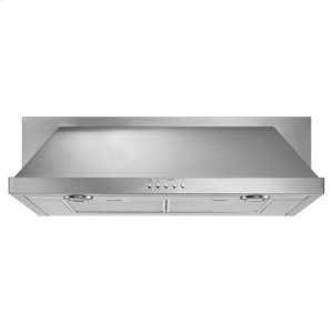 "Amana36"" Convertible Under-Cabinet Hood - stainless steel"