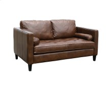 Coffee Dapper Loveseat