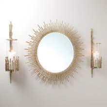 Spike Wall Sconce-Antique Brass