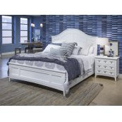 Complete Queen Arched Bed with Regular Rails
