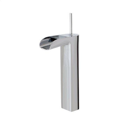 Tall single-hole lavatory faucet