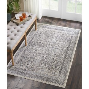 Silver Screen Ki342 Grey Rectangle Rug 9'10'' X 13'2''