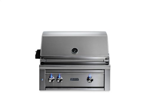 "30"" Lynx Professional All Trident Built In Grill Rotisserie, LP"
