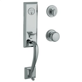 Polished Chrome Glennon Escutcheon Trim