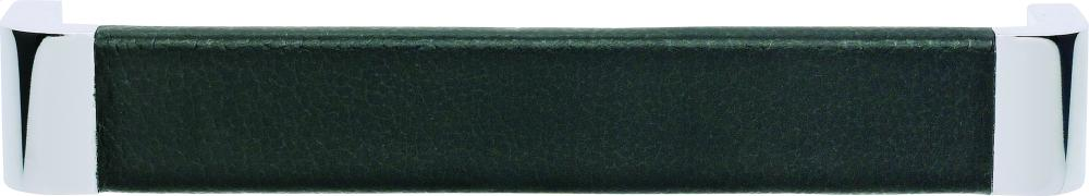 Paradigm Pull 6 5/16 Inch (c-c) - CH & Black Leather