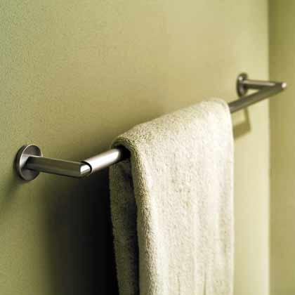 """Sine 24"""" Towel Bar - Polished Chrome"""