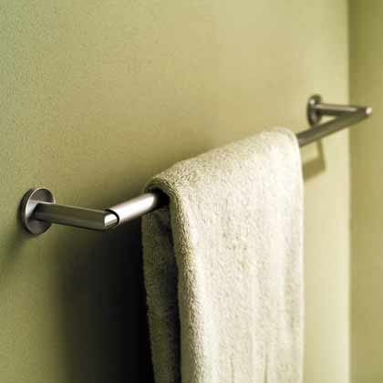 "Sine 24"" Towel Bar - Polished Chrome"