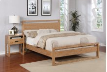 Vadstena Bed - Cal King, Almond Finish
