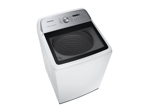 WA5400 5.0 cu. ft. Top Load Washer with Super Speed in White