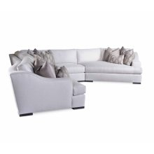 Vesper Sectional w/ Block leg