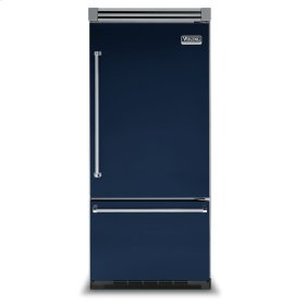 "Viking Blue 36"" Bottom-Mount Refrigerator/Freezer - VIBB (Right Door Hinge)"