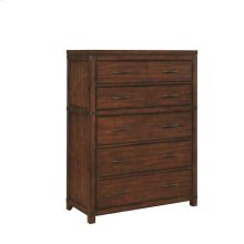 Artesia Dark Cocoa Five-drawer Chest