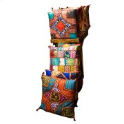 Fabric Pillows Embroidered Product Image