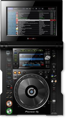 TOUR system multi player with fold-out touch screen