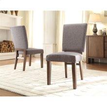 Terra Vista - Side Chair - Casual Walnut Finish