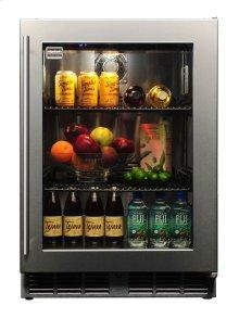 Signature 24-inch Outdoor Refrigerator with Glass Door