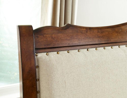 Luciano King Upholstered Bed Headboard