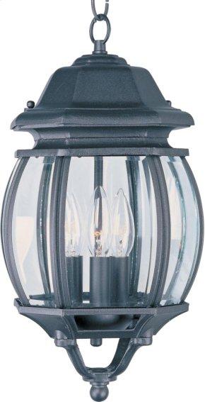 Crown Hill 3-Light Outdoor Hanging Lantern