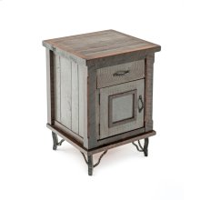 Hill Country 1 Door 1 Drawer Night Stand Hinged Left