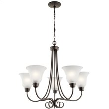 Bixler Collection Bixler 5 light Chandelier OZ