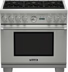 36-Inch Pro Grand Commercial Depth Dual Fuel Range PRD366JGU Product Image