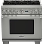 Thermador36-Inch Pro Grand Commercial Depth Dual Fuel Range PRD366JGU