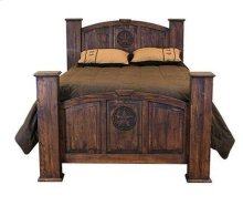 King Mansion Bed W/Star (Medio)