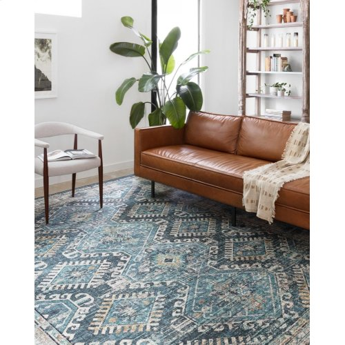 Denim / Natural Rug