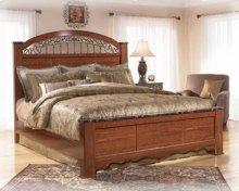 Fairbrooks Estate - Reddish Brown 3 Piece Bed Set (King)