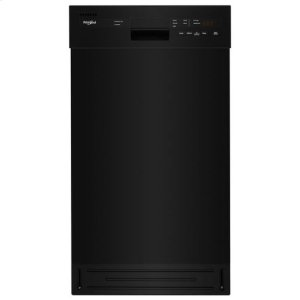 WhirlpoolWhirlpool(R) Small-Space Compact Dishwasher with Stainless Steel Tub - Black