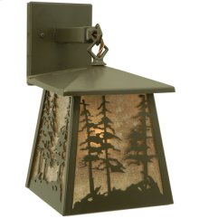 "7""W Stillwater Tall Pines Hanging Wall Sconce"