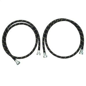 5' Nylon Braided Washer Fill Hose Kit -