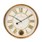 Baxton Studio Alexandre Vintage Style Antique Gold Finished Wall Clock Product Image