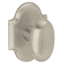 Satin Nickel with Lifetime Finish 5024 Oval Knob