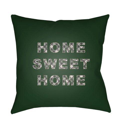 "HOME SWEET HOME PLAID-018 18"" x 18"""