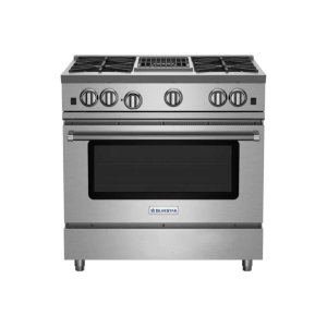 "Bluestar36"" RNB Series Range with 12"" Charbroiler"