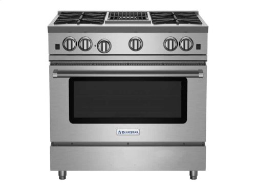"36"" RNB Series Range with 12"" Charbroiler"