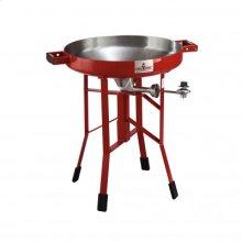 Red FireDisc Deep 24-inch Short Portable Cooker