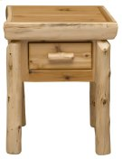 One Drawer Nightstand - Natural Cedar Product Image