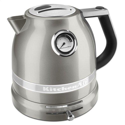 1.5 L Pro Line® Series Electric Kettle - Sugar Pearl Silver