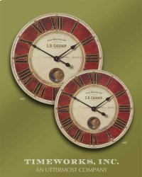 "S.B. Chieron 23"" Wall Clock Product Image"