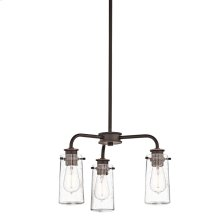 Braelyn Collection Semi Flush/Chandelier 3Lt