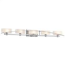 Suspension Collection Suspension 5 light Bath Light - Chrome