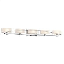 Suspension Collection Suspension 5 light Bath Light - Chrome